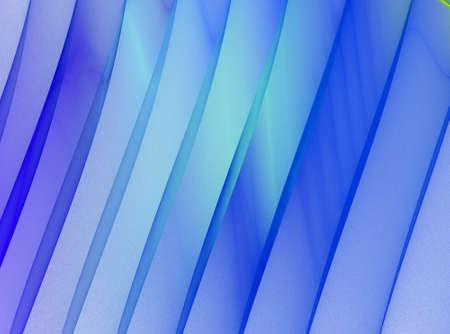 Blue stripes. Abstract fractal background Banco de Imagens