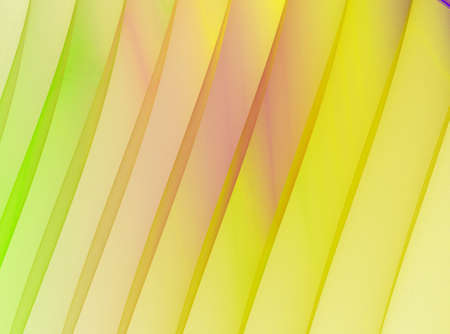 Yellow stripes. Abstract fractal background