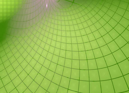 Green squares. Abstract techno background