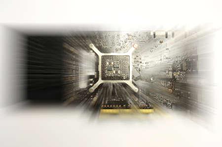 hdmi: Computer Graphic VideoCard Stock Photo