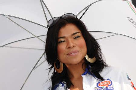 24 september 2011: Paddock Girl bij SBK Championship Redactioneel