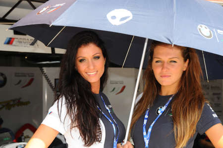 24 September 2011: Paddock Girls at SBK Championship Redactioneel