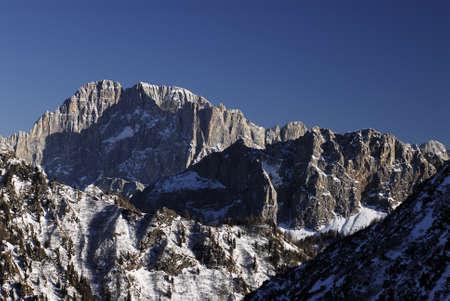 Civetta group in the Dolomites, Val di Fassa - Italy.