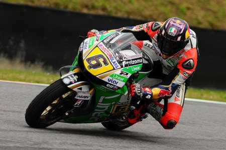 MUGELLO - ITALY, MAY 31: German Honda rider Stefan Bradl at 2013 TIM MotoGP of Italy at Mugello circuit on May 31, 2013