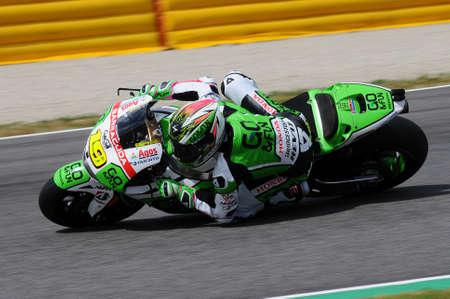 MUGELLO - ITALY, MAY 30: Spanish Yamaha rider Alvaro Bautista at 2014 TIM MotoGP of Italy on May 30, 2014