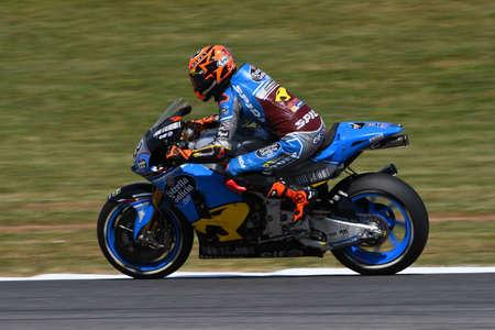 Mugello - ITALY, June 2: Spanish Honda Marc VDS rider Tito Rabat during 2017 Oakley GP of Italy MotoGP at Mugello Circuit on JUNE 2, 2017