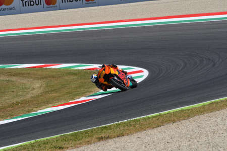 Mugello - ITALY, JUNE 3: Spanish KTM MotoGP rider Pol Espargarò at 2017 OAKLEY GP of Italy of MotoGP Mugello on JUNE 3, 2017. Italy Editorial