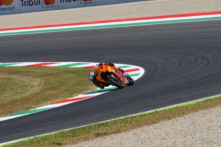 Mugello - ITALY, JUNE 3: Spanish KTM MotoGP rider Pol Espargar� at 2017 OAKLEY GP of Italy of MotoGP Mugello on JUNE 3, 2017. Italy Editorial