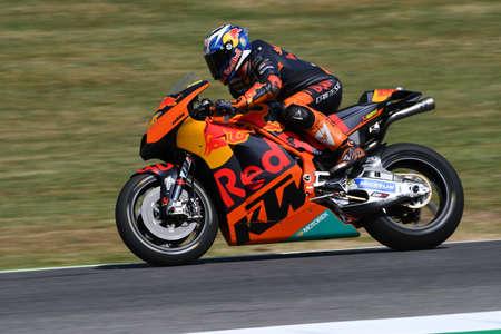 Mugello - ITALY, JUNE 3: Spanish KTM MotoGP rider Pol Espargarò at 2017 OAKLEY GP of Italy of MotoGP Mugello on JUNE 3, 2017. Italy Editorial
