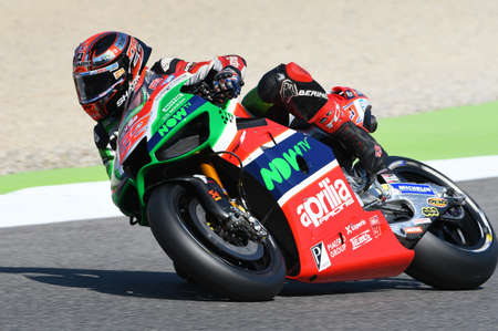 Mugello - ITALY, JUNE 3: British Aprilia rider Sam Lowes at 2017 OAKLEY GP of Italy of MotoGP Mugello on JUNE 3, 2017. Italy