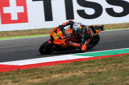 Mugello - ITALY, JUNE 3: Spanish KTM MotoGP rider Pol Espargarò at 2017 OAKLEY GP of Italy of MotoGP Mugello on JUNE 3, 2017. Italy