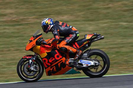 Mugello - ITALY, JUNE 3: Spanish KTM MotoGP rider Pol Espargarò at 2017 OAKLEY GP of Italy of MotoGP Mugello on JUNE 3, 2017. Italy