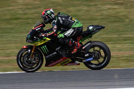 MUGELLO - ITALY, JUNE 3: Deutsch Yamaha Tech 3 Rider Jonas Folger at 2017 Oakley MotoGP GP of Italy on JUNE 3, 2017