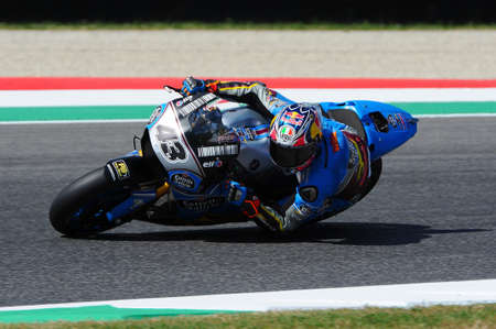 Mugello - ITALY, June 2: Australian Honda Marc VDS rider Jack Miller during 2017 Oakley GP of Italy MotoGP at Mugello Circuit on JUNE 2, 2017 Editorial