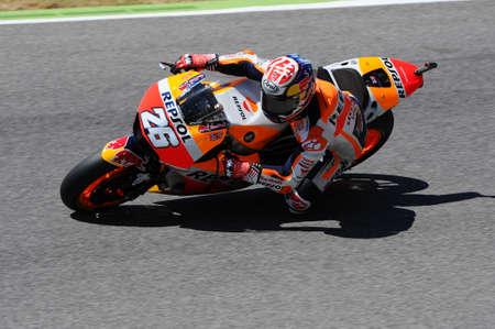 Mugello - ITALY, JUNE 3: Spanish Honda Repsol rider Daniel Pedrosa at 2017 OAKLEY GP of Italy of MotoGP Mugello on JUNE 3, 2017. Italy