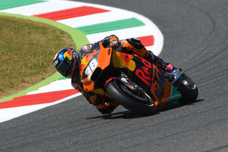 Mugello - ITALY, JUNE 3: British KTM MotoGP rider Bradley Smith at 2017 OAKLEY GP of Italy of MotoGP Mugello on JUNE 3, 2017. Italy Editorial