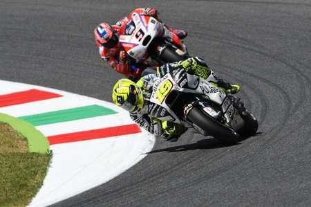 Mugello - ITALY, JUNE 3: Spanish Ducati Aspar rider Alvaro Bautista at 2017 OAKLEY GP of Italy of Mugello on JUNE 3, 2017. Italy