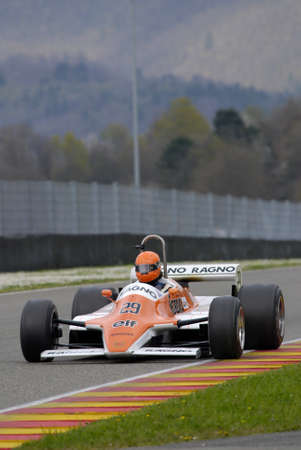 Mugello Circuit 1 April 2007: Unknown run on Classic F1 Car 1979 Arrows A4 ex Siegfried Stohr on Mugello Circuit in Italy during Mugello Historic Festival.