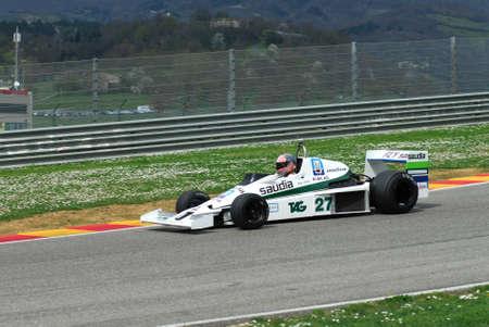 Mugello Circuit 1 April 2007: Unknown run on Classic F1 Car 1978 Williams FW 06 on Mugello Circuit in Italy during Mugello Historic Festival.