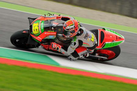 Mugello - ITALY, May 21: Spanish Aprilia rider Alvaro Bautista at 2016 TIM GP MotoGP GP of Italy at Mugello Circuit on May 21, 2016