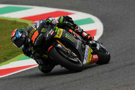 MUGELLO - ITALY, MAY 21: British Yamaha rider Bradley Smith at 2016 TIM MotoGP GP of ITALY at Mugello Circuit on MAY 21, 2016 Editorial