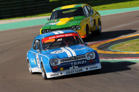 Imola Classic 22 Oct 2016 - FORD Escort 1600 RS  1975 driven by unknow, during practice on Imola Circuit, Italy.