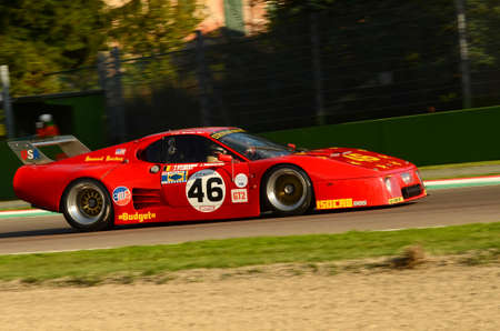 Imola Classic 22 Oct 2016 - FERRARI 512 BBLM 1980 driven by Christian BOURIEZ, during practice on Imola Circuit, Italy.