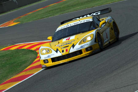 15 September 2006: #4 Chevrolet Corvette C6 R Z06 GLPK-Carsport (B) team driven by Longin  Kumpen  Hezemans during FIA GT Championship round of Mugello Circuit in Italy.