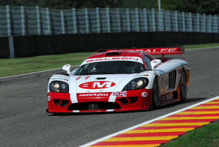 15 September 2006: #11 Saleen S7-R GT1 of Balfe Motorsport (GB) team driven by Balfe  Taylor during FIA GT Championship round of Mugello Circuit in Italy.