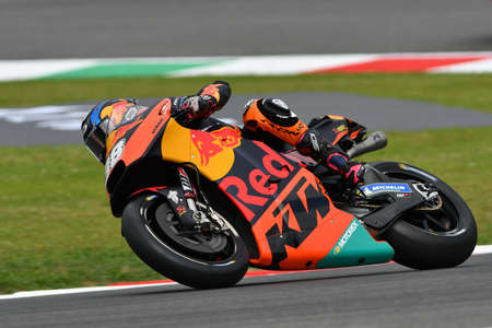 Mugello - ITALY, 2 JUNE: British Red Bull Ktm Factory Racing Team Rider Bradley Smith during Qualifying session at 2018 GP of Italy of MotoGP on June, 2018. Italy Editorial