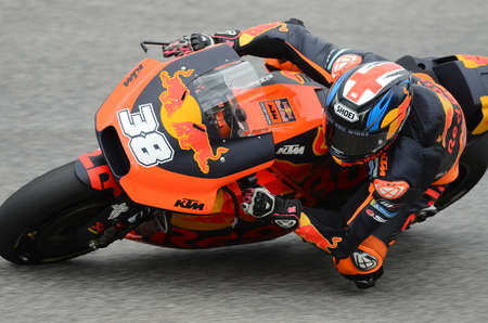 Mugello - ITALY, 2 JUNE: British Red Bull Ktm Factory Racing Team Rider Bradley Smith at 2018 GP of Italy of MotoGP on June, 2018. Italy