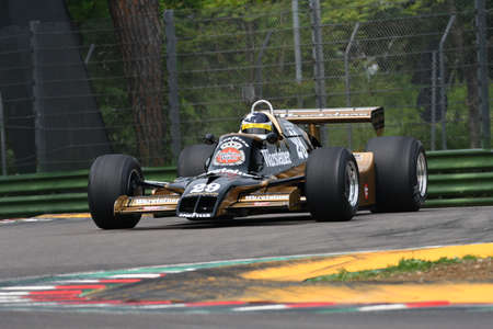 6 May 2018: Unknown run with historic 1979 Formula 1 Arrows A1B ex Riccardo Patrese during Minardi Historic Day 2018 in Imola Circuit in Italy. 報道画像