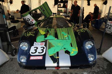 Imola Classic 22. Oktober 2016 - LOLA T 70 1970 im Fahrerlager von Imola Circuit, Italien. Editorial