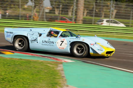 Imola Classic 22 Oct 2016 - LOLA T70 Mk III 1968 driven by Toni Seiler, during practice on Imola Circuit, Italy.