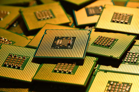 old computer Chip Processors