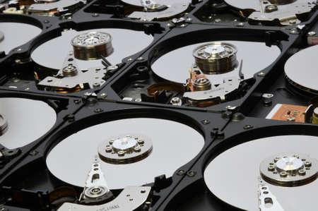 open aligned hard disk drives