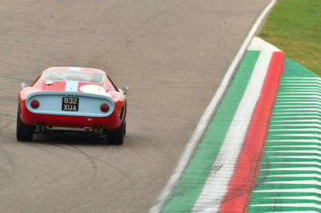 Imola Classic 26 October 2018 - FERRARI 250 GT Drogo 1963 driven by Larry KINCH, during practice of Imola Classic 2018 on Imola Circuit, Italy. 報道画像