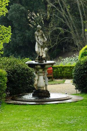 Statues at the Bardini Garden, Italy.