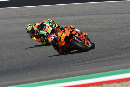 Mugello - Italy, 1 June: Spanish Red Bull Ktm Factory Racing Team rider Pol Espargaro in action at 2019 GP of Italy of MotoGP on June 2019 in Italy