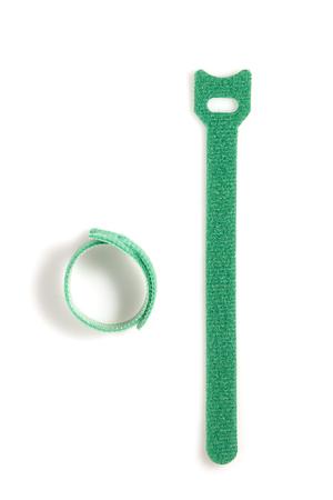 Colored velcro clamp