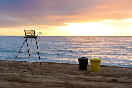Sunrise at Beach Stock Photo - 10649195