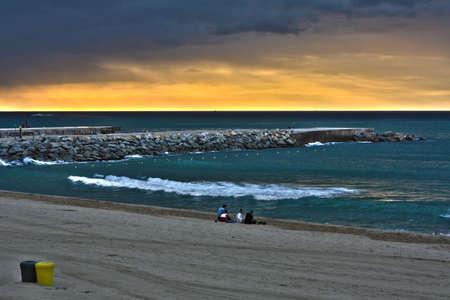 Sunrise at Beach photo