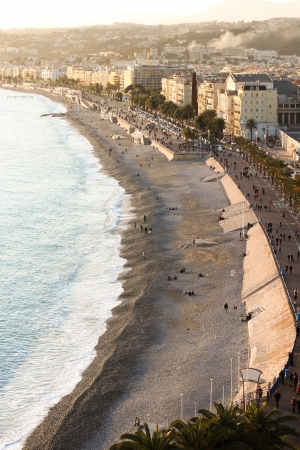 The Promenade at the City of Nice at the Cote dazur photo