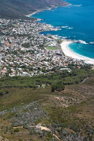 View of Camps Bay, Cape Town, South Africa photo