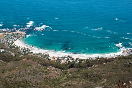 Image of Clifton Beach from Lions Head, Cape Town, South Africa
