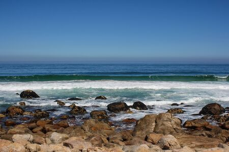 Beach along south africas coastline at the indian ocean Stock Photo - 15436631