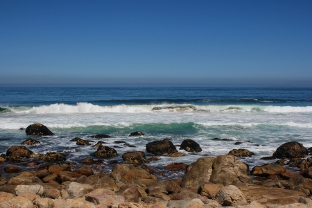 Beach along south africas coastline at the indian ocean Stock Photo - 15870944