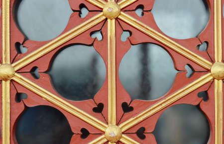 木製フレーム 写真素材