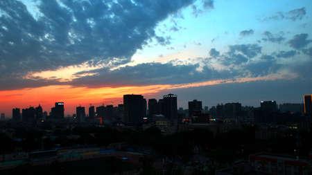 Skyline 写真素材