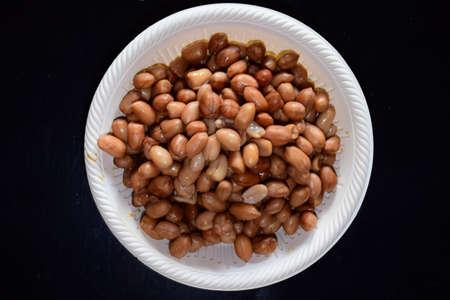 Boiled peanuts 写真素材
